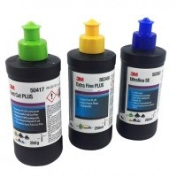 Set MINI polirnih past 3M (zelena, rumena, modra) 3x 250ml