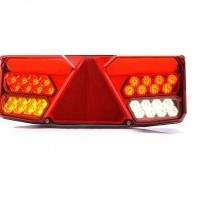 LED rear combination lamp trailer, 24V, 306x133mm, w