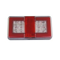 Led rear combination lamp mini, 12-24v, 150x80, lcd