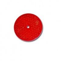 Odsevni krog fi 60, rdeč, samolepljiv, jokon R89r